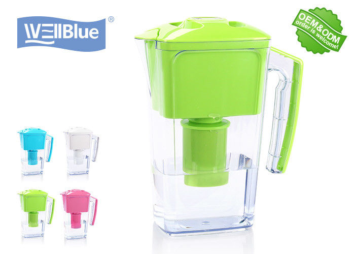 2.5L Plastic Alkaline Water Pitcher Eco Friendly For Direct Drinking Water